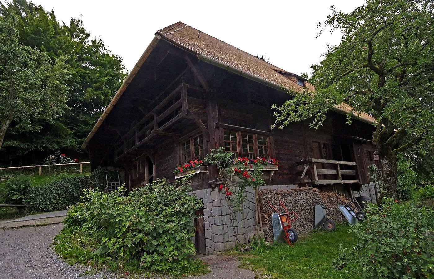 Das Schauinslandhaus von 1730 ...