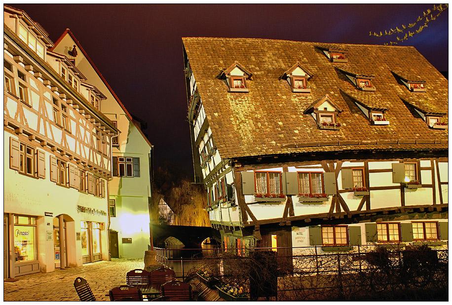Das Schiefe Haus in Ulm Foto & Bild