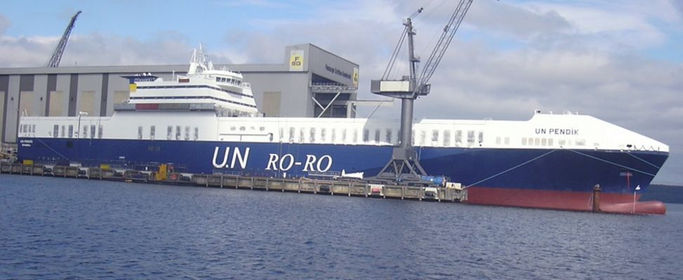 Das Schiff RO-RO