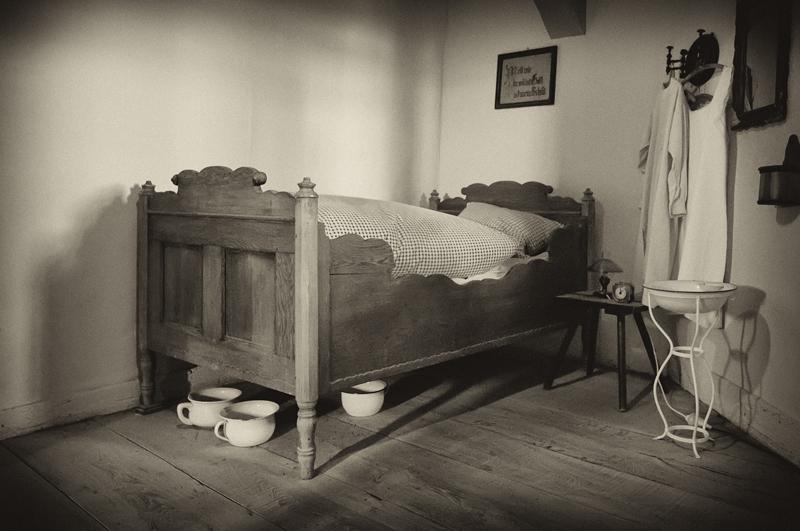 Das Schlafgemach der Türmerwohnung