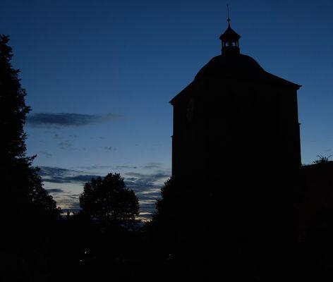 Das Schloss bei Nacht