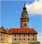Das Schloss Ceský Krumlov