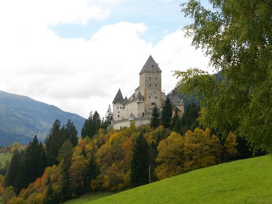 Das Schloss im Gebirge...