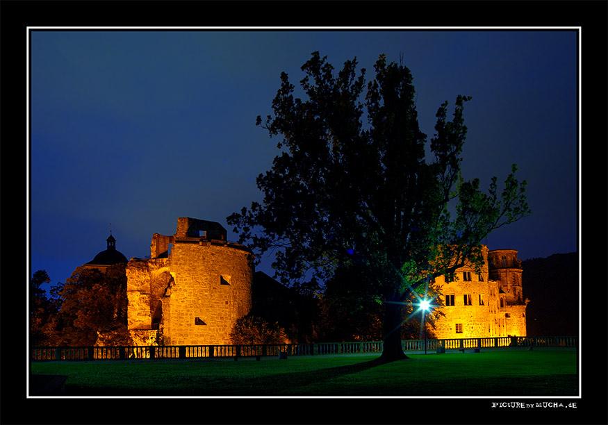 Das Schloss in Heidelberg