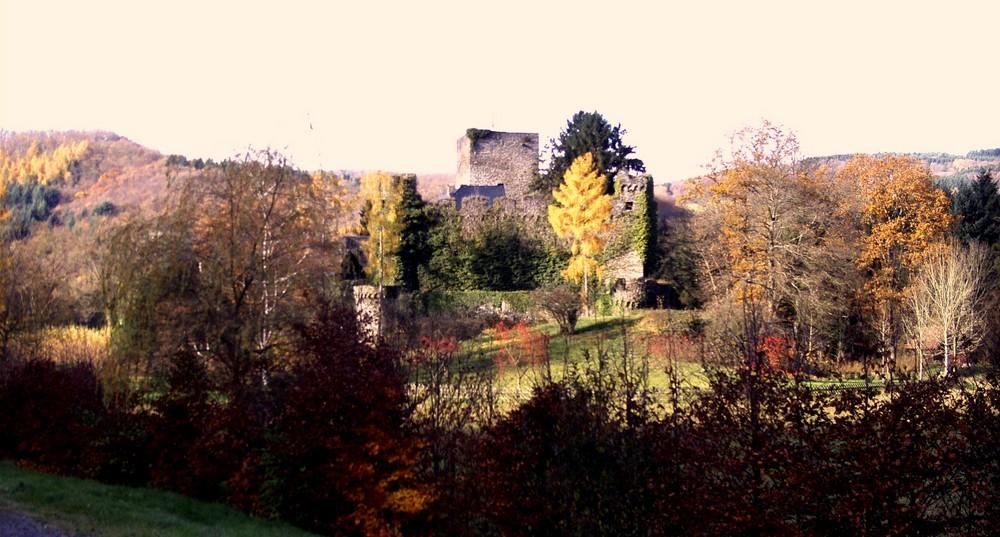 Das Schloß Langenau