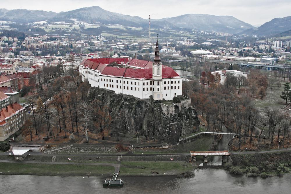 Das Schloss von Decin