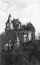 Das Schloß von Menthon-Saint-Bernard