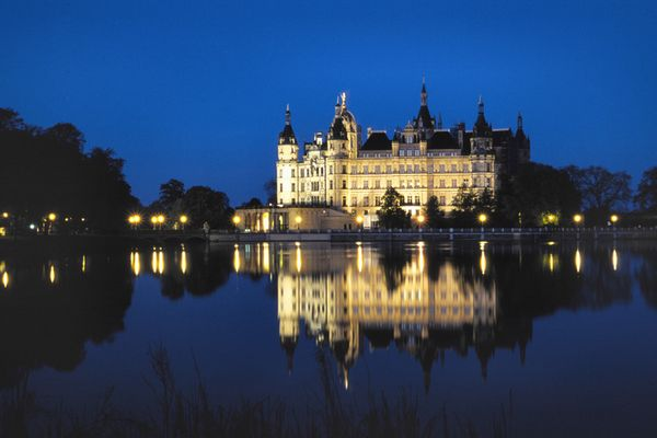 Das Schloß zu Schwerin