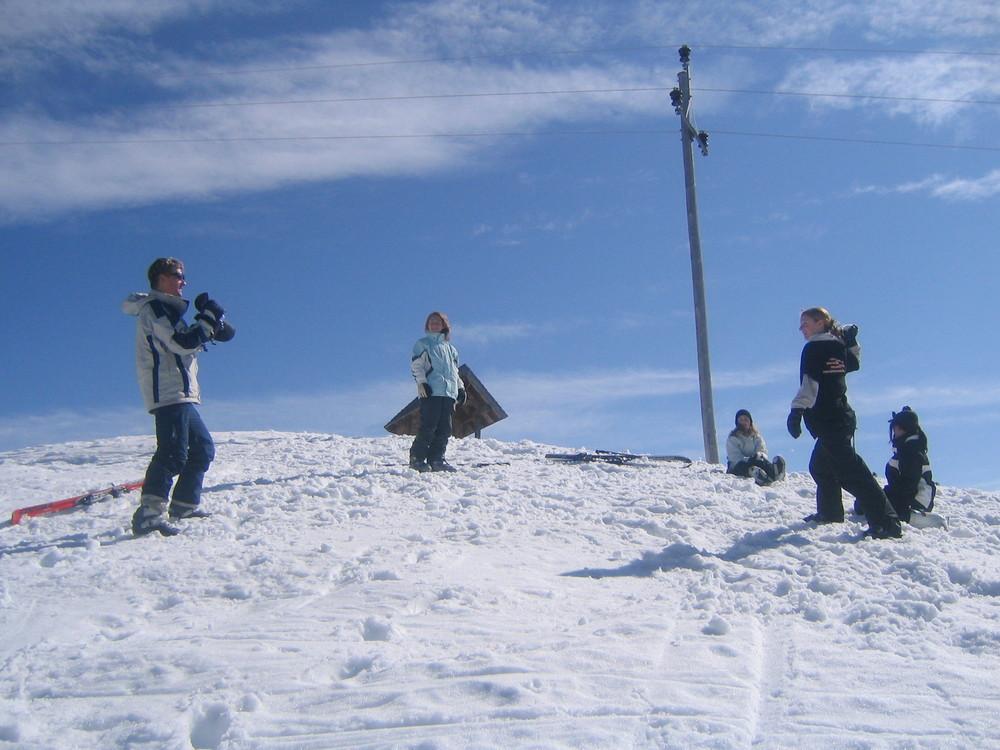Das Schneeballduell :-)