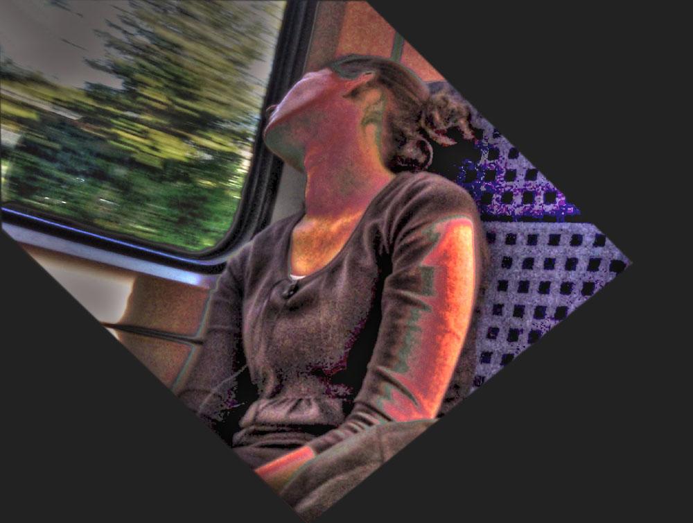 Das Schöne am Bahnfahren ist, wie gleichgültig einem die Geschwindigkeit sein kann