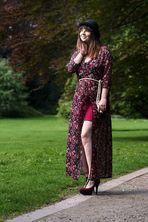 Das schöne Fräulein im Park