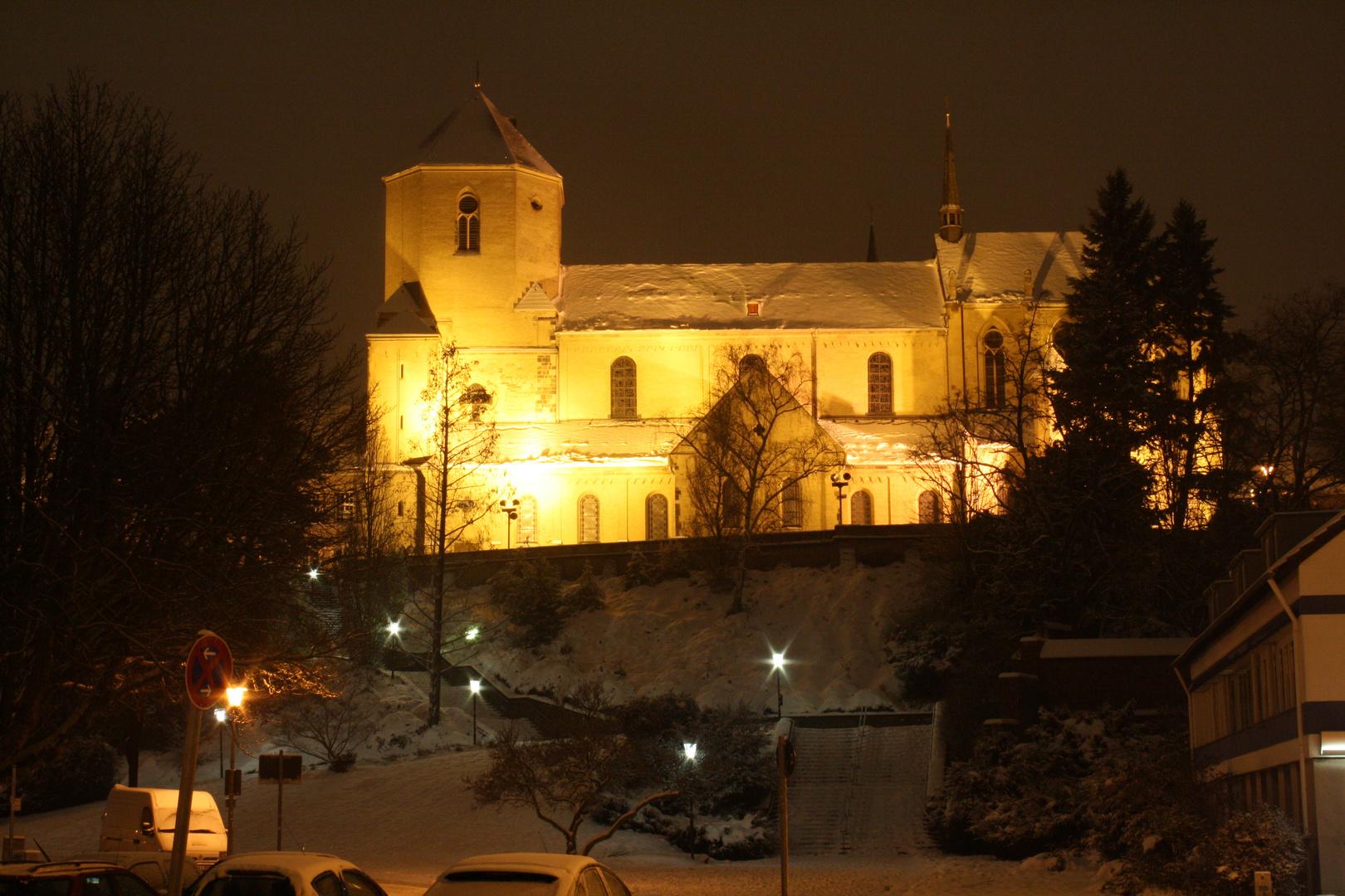 Das schöne Münster St. Vitus in Mönchengladbach