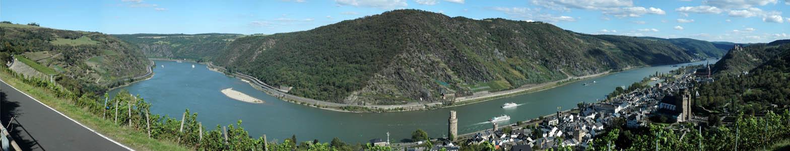 Das schöne Rheintal
