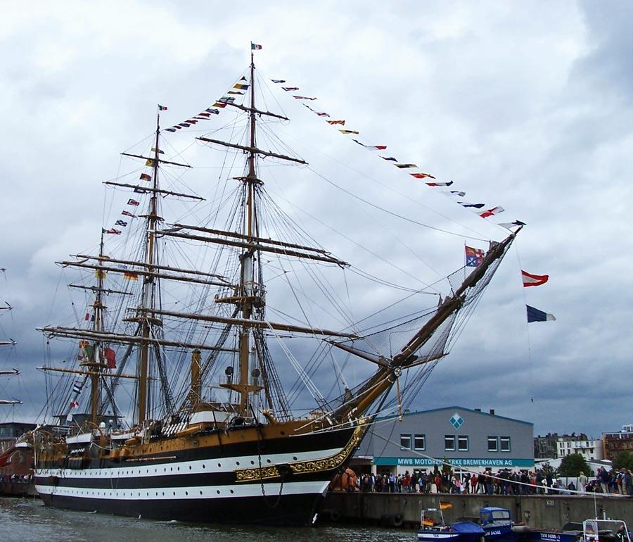 Das schönste Segelschiff