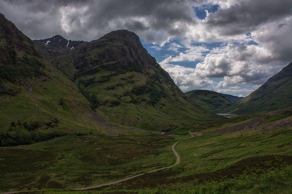das Schottische Hochland ( Highlands )