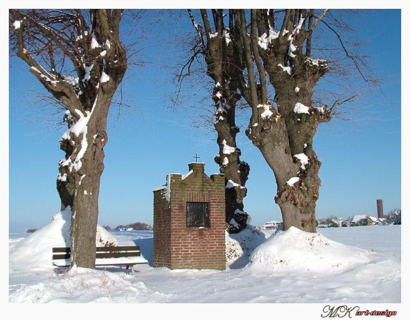 Das Schweinekapellchen im Schnee