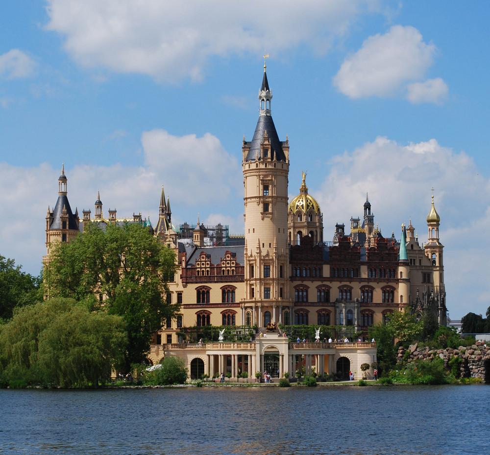 Das Schweriner Schloss Foto & Bild   sonstiges, natur Bilder auf ...