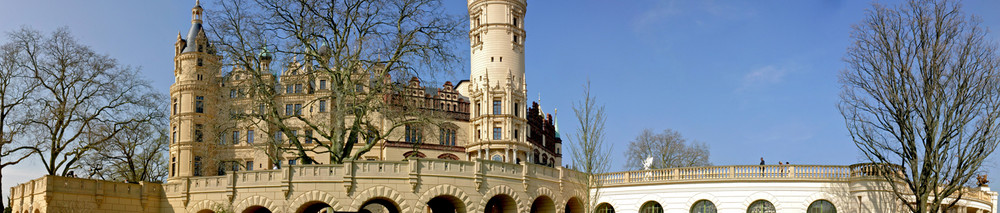 Das Schweriner Schloss aus einer anderen Sicht !