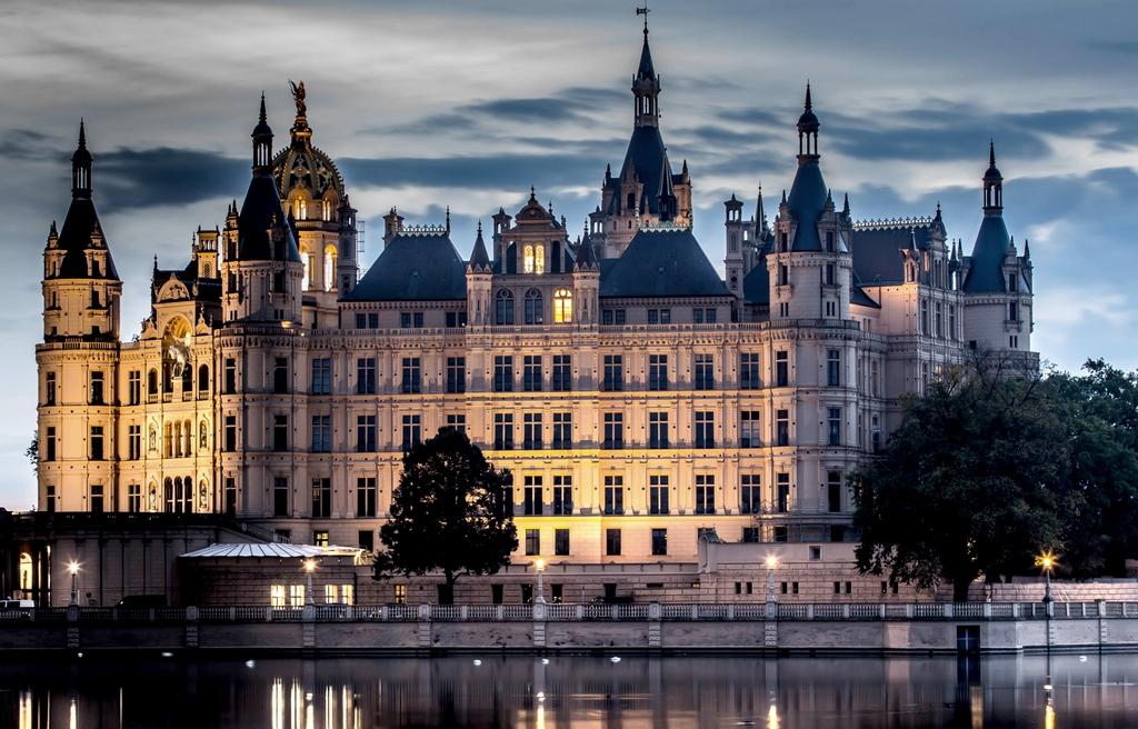Das Schweriner Schloss(2)