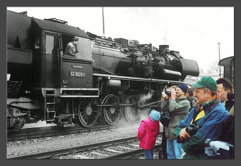 Das selige Eisenbahnlächeln...