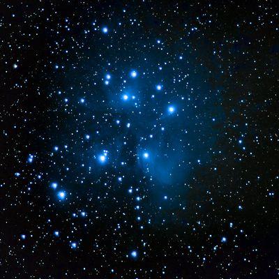 Das Siebengestirn M45