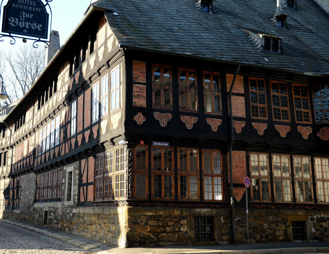 Das Siemens-Haus in Goslar