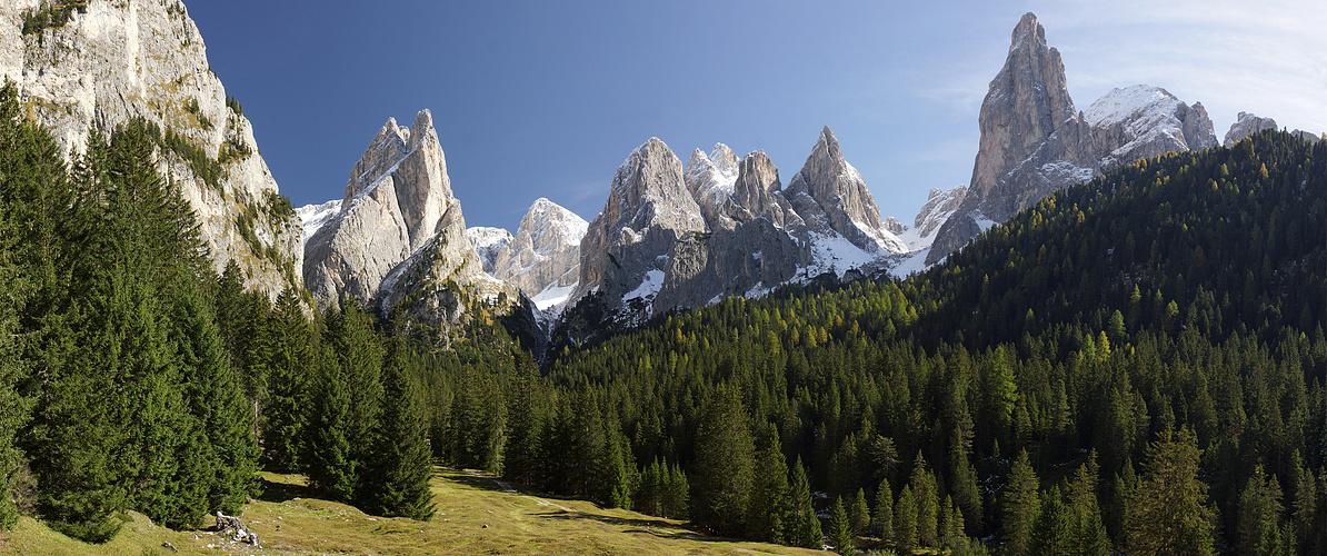 Das sind Berge!