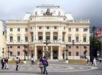 Das Slowakische Nationaltheater in Bratislava