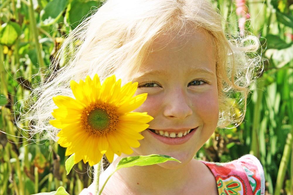 Das Sonnenblumenkind