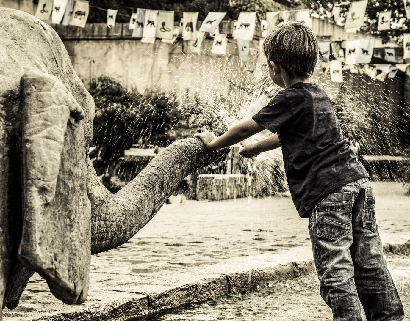 Das Spiel mit dem Elefanten