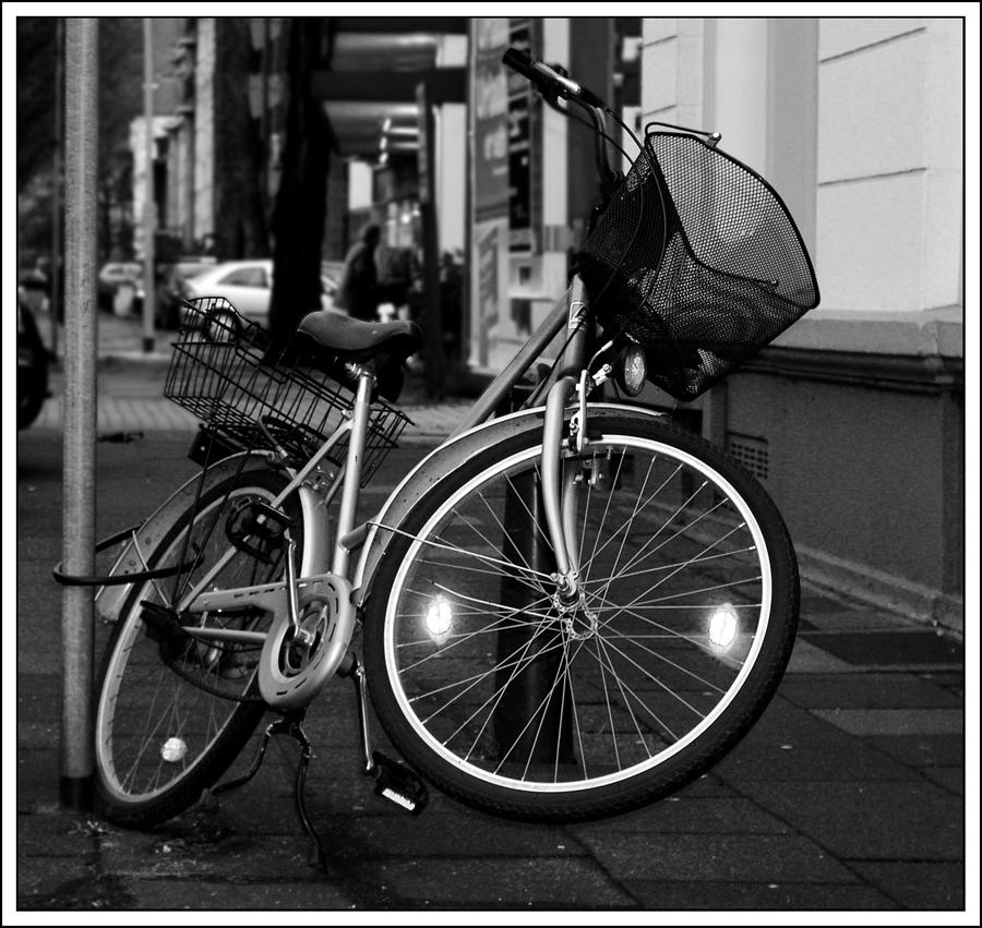 das springende Fahrrad