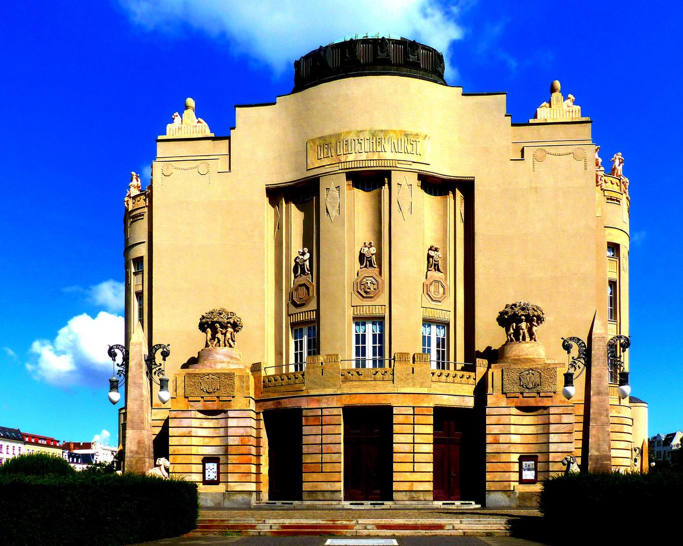 Das Staatstheater Cottbus  ..