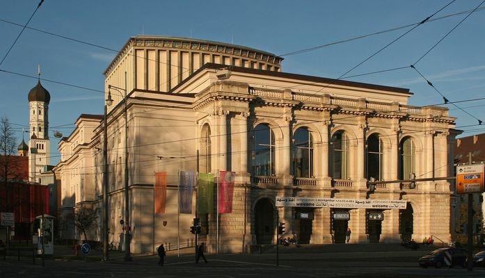 Das Stadttheater in Augsburg