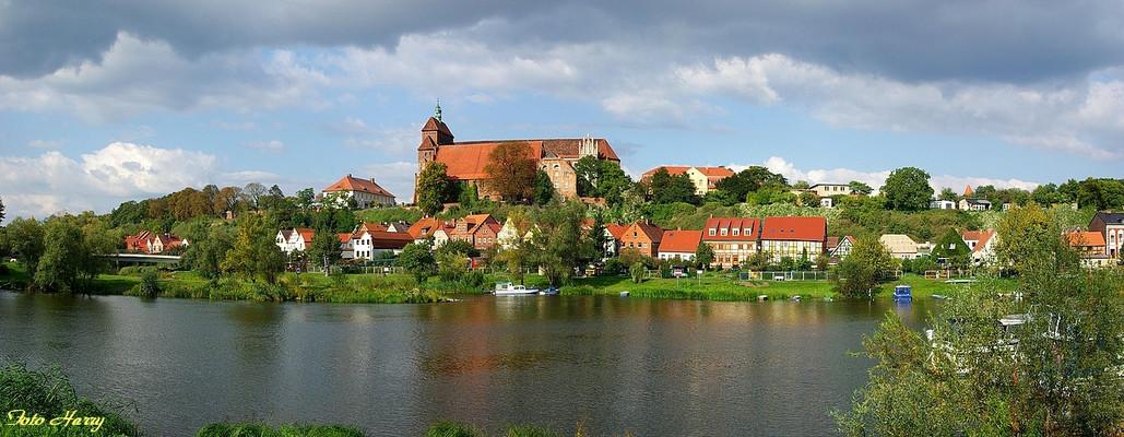 Das Städtchen Havelberg mit dem Dom St. Marien.