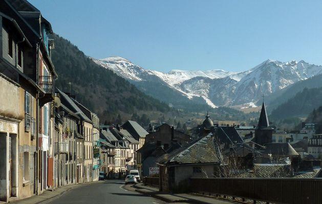 das Städtchen Mont-Dore