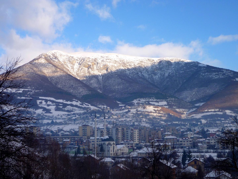 Das Städtchen Travnik ...