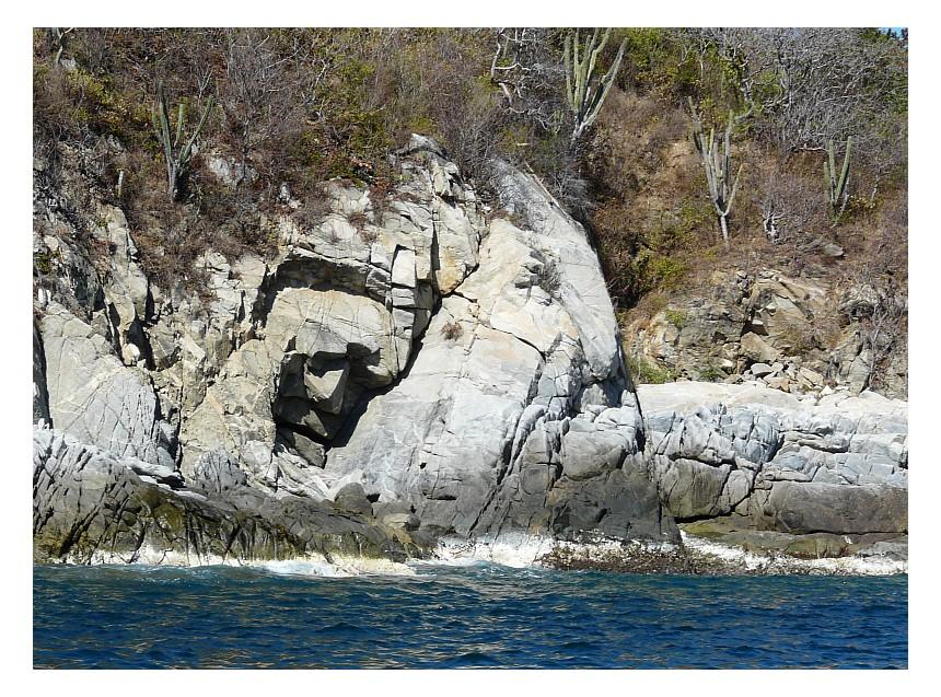 Das Steingesicht von Huatulco