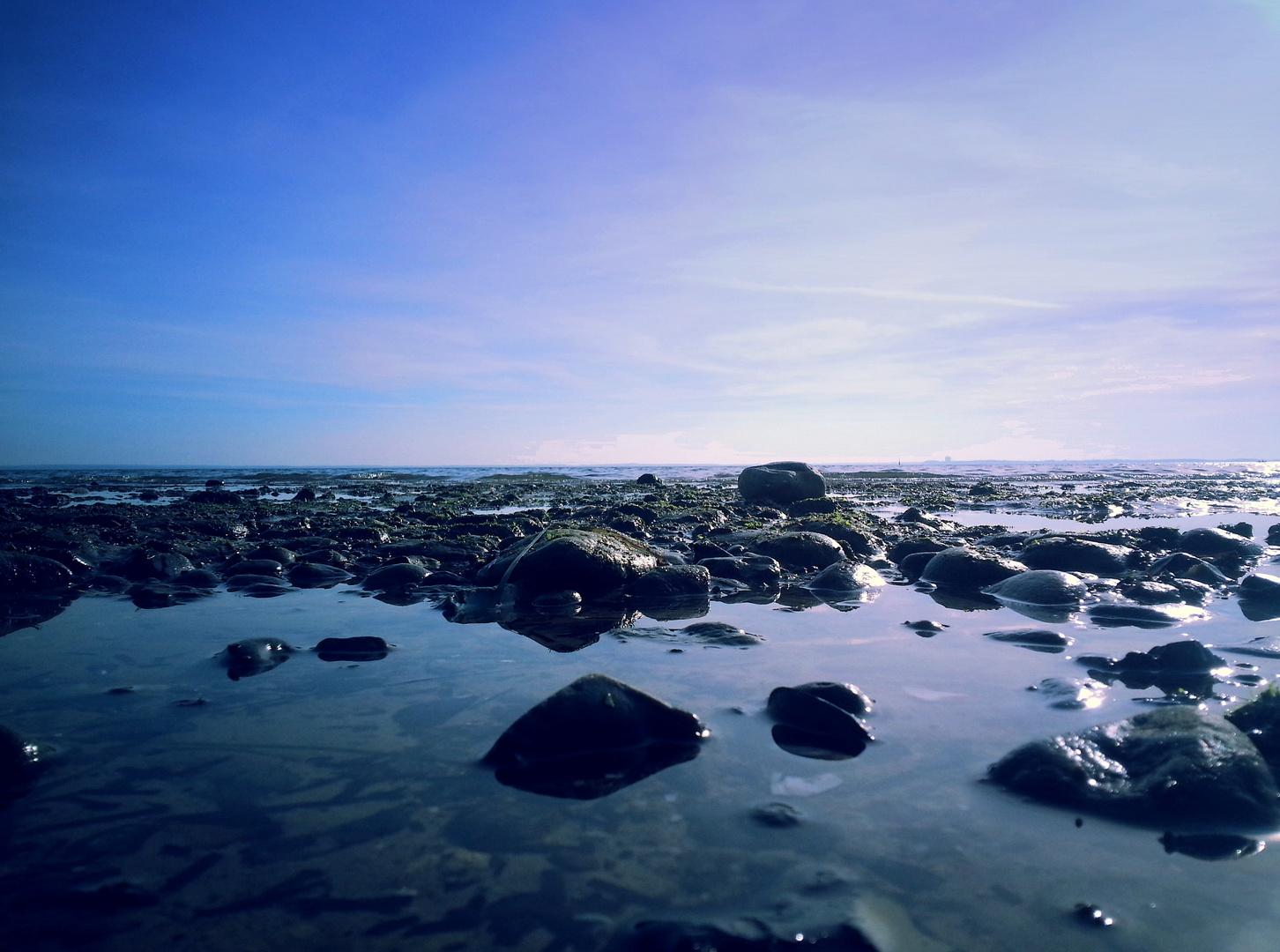 Das Steinmeer am Meer