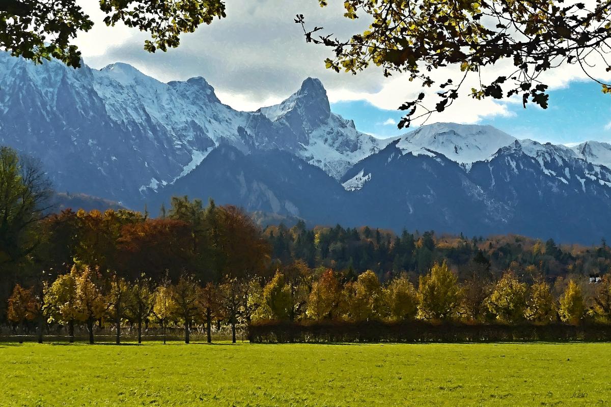 das Stockhorn im Herbst
