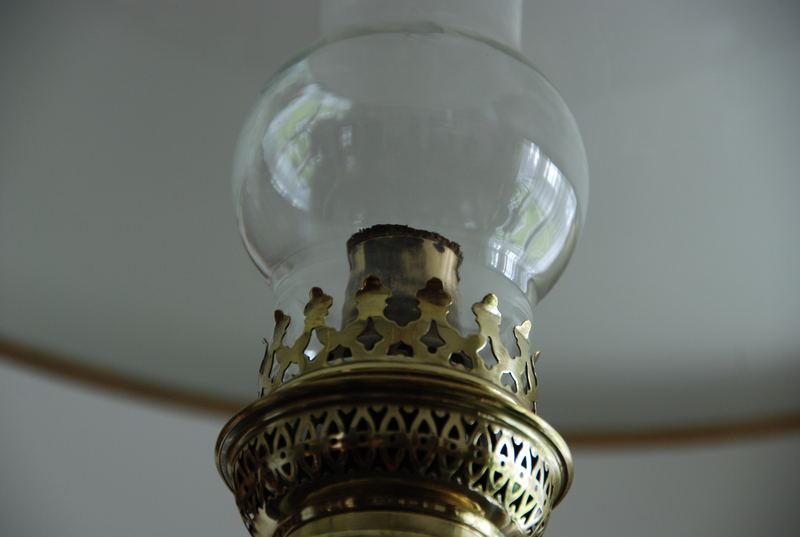 Das Tageslicht einer Energiesparlampe