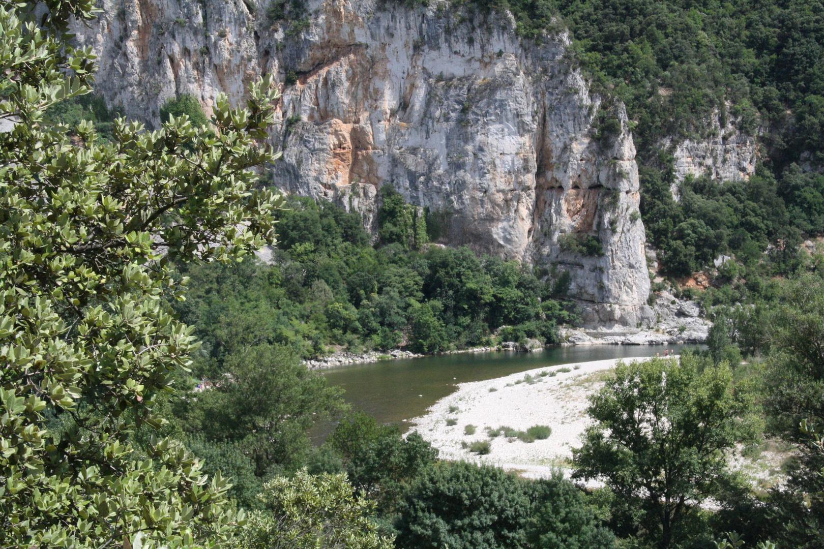 Das Tal der Ardeche