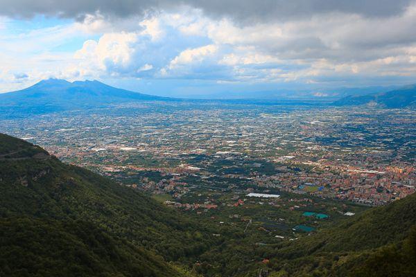 Das Tal des Vesuvs