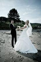 Das tanzende Brautpaar am Rhein