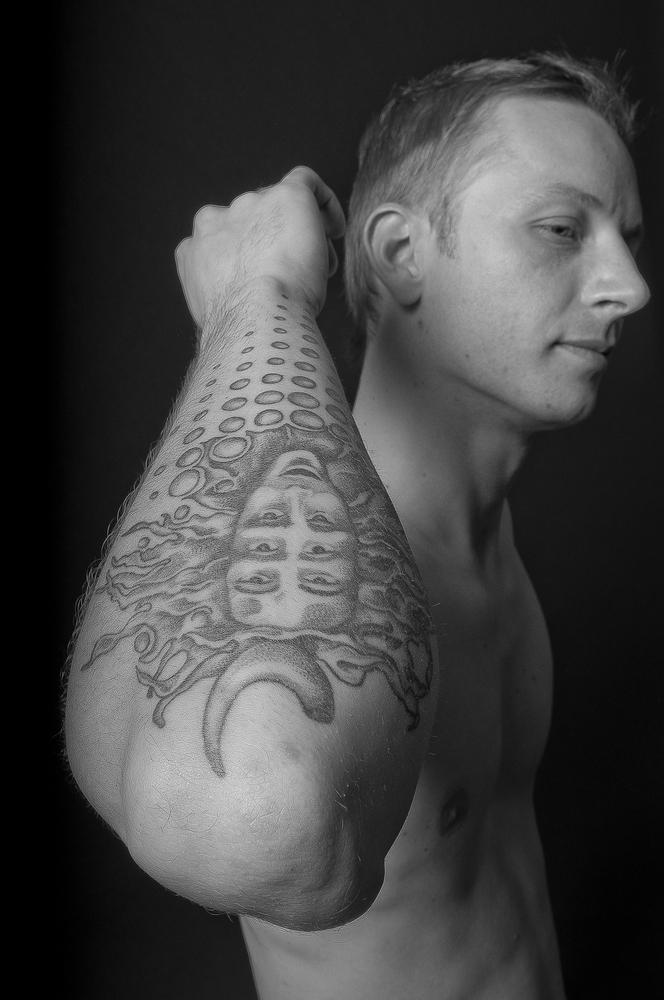 Das Tattoo ganz