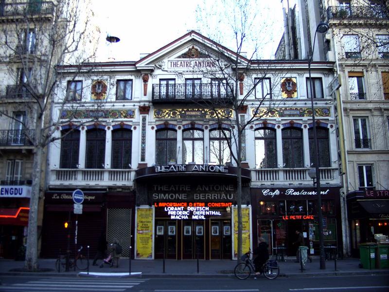 Das Théâtre Antoine