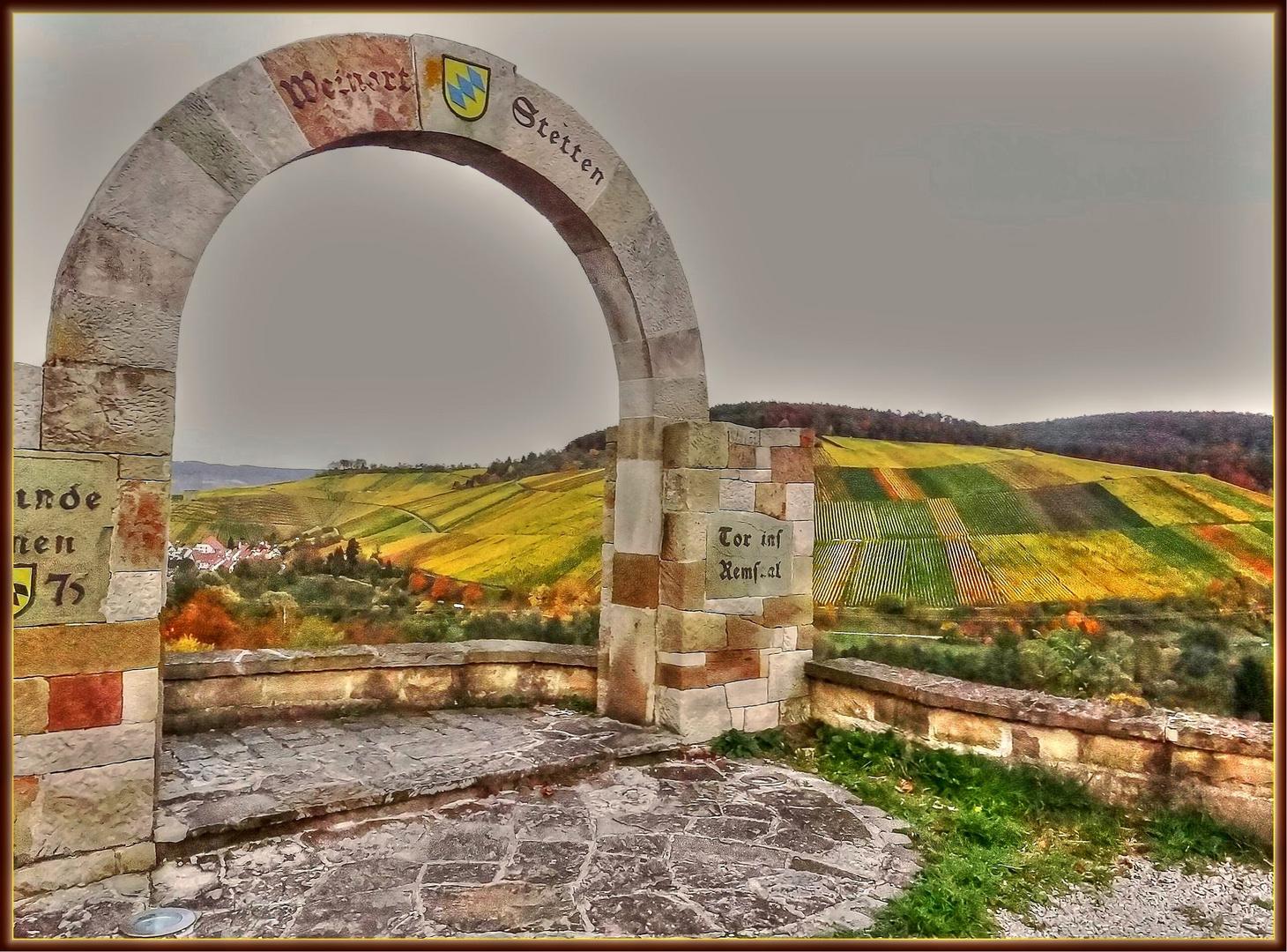 Das Tor ins Remstal