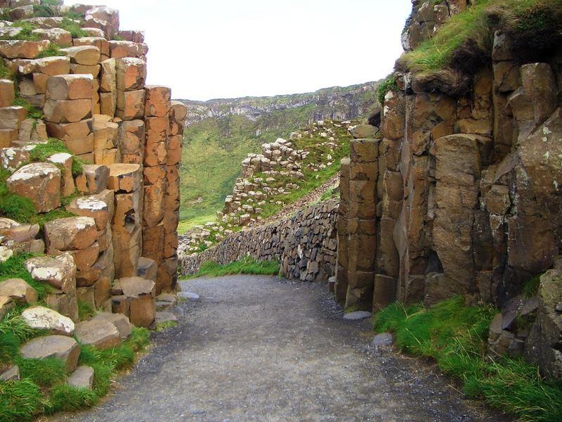 Das Tor zu unglaublichen :-) an den Giant Causways
