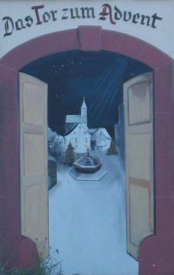 Das Tor zum Advent