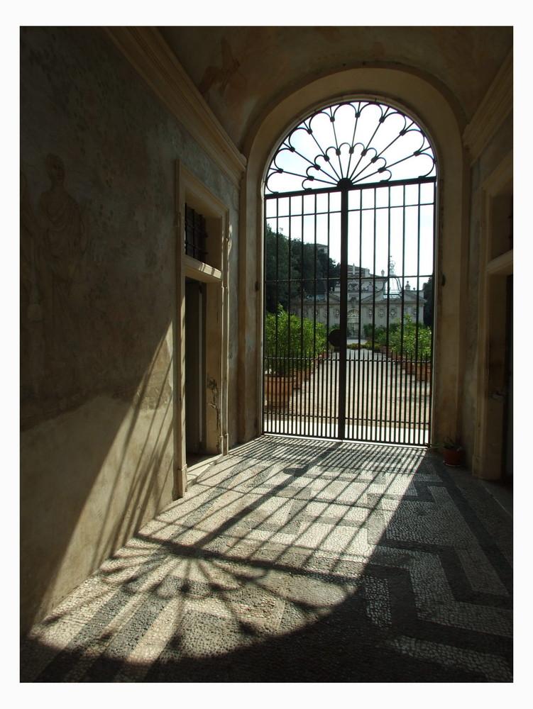 Das Tor zum Garten