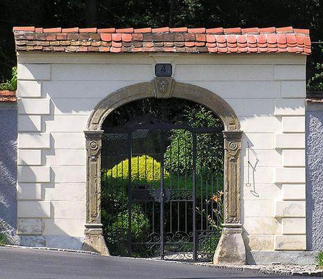 Das Tor zum Park...